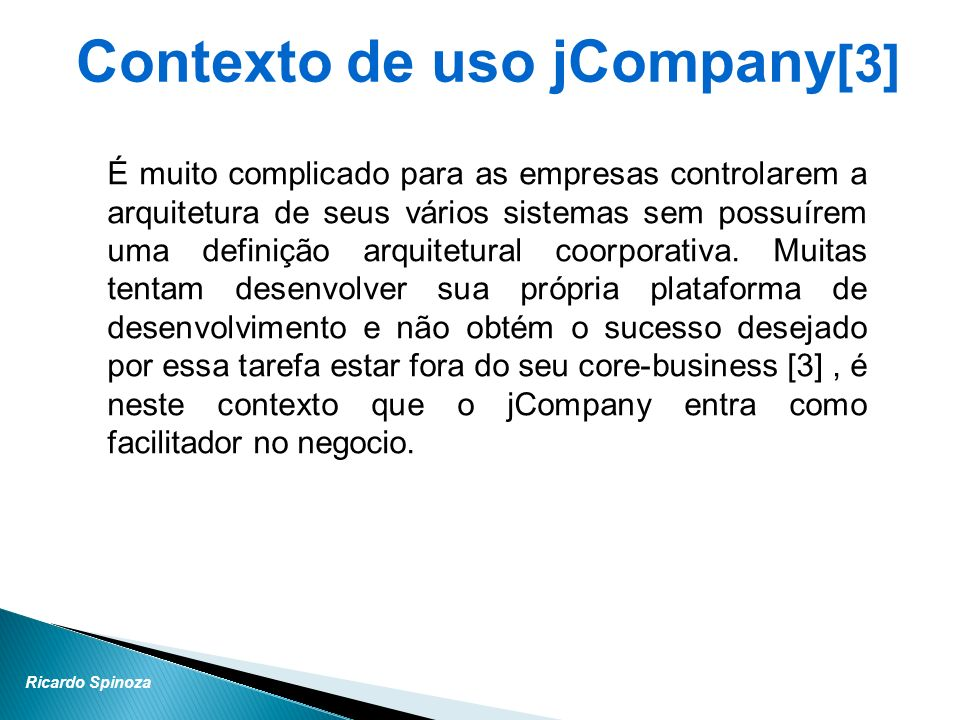 Contexto de uso jCompany[3]